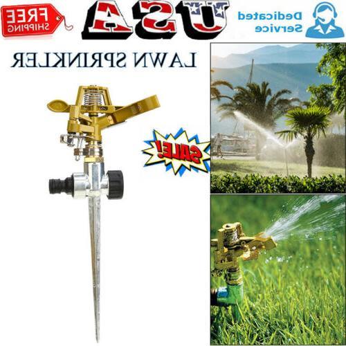 garden lawn sprinkler 360 rotating adjustable water