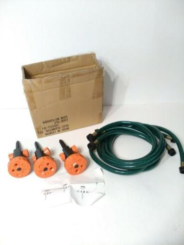 garden lawn sprinkler set 3 pc s
