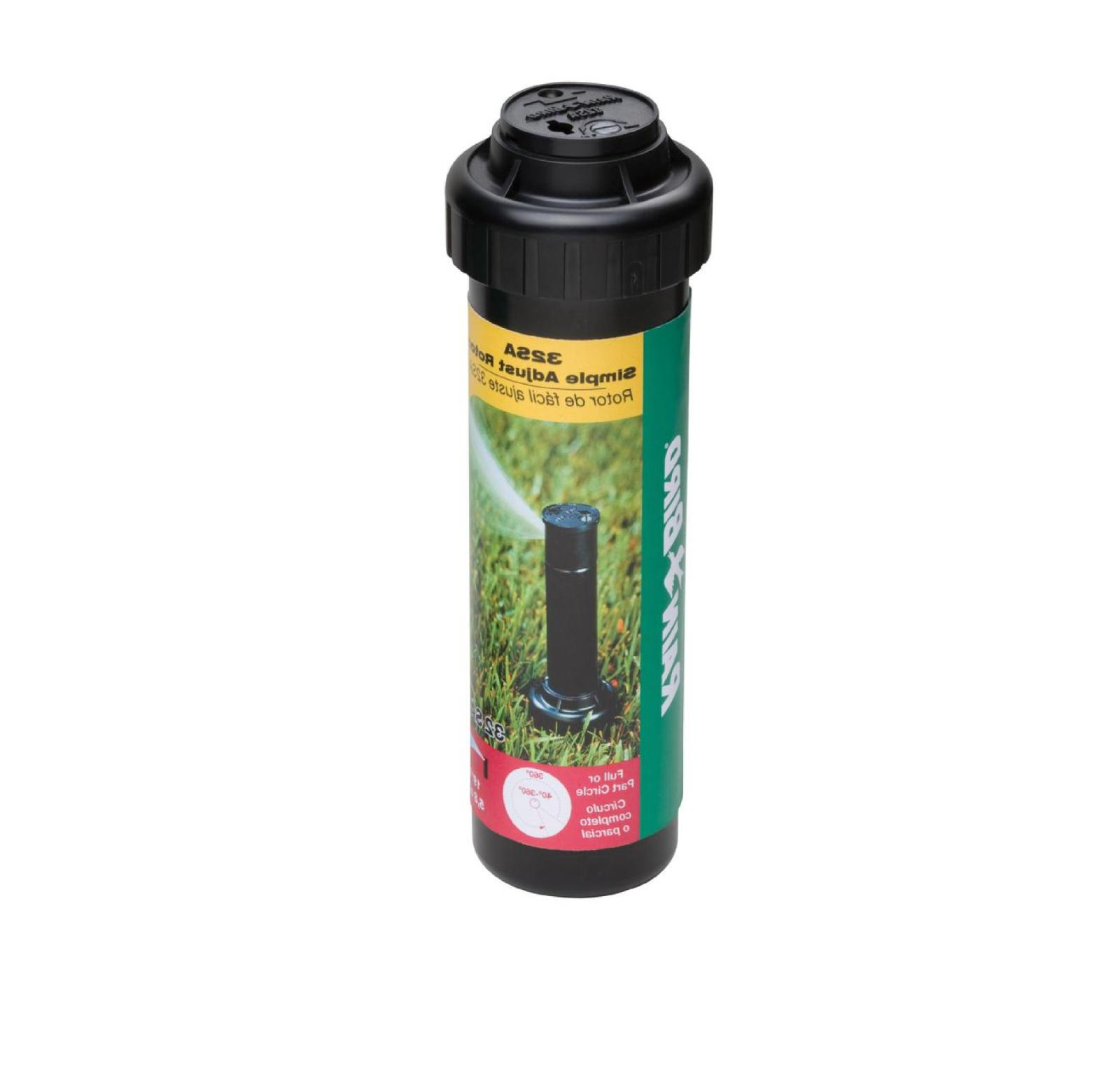 Gear Pop Sprinklers Adjustable 19 Self-Flushing Spring