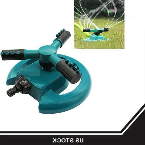 hot 360 lawn circle rotating water sprinkler