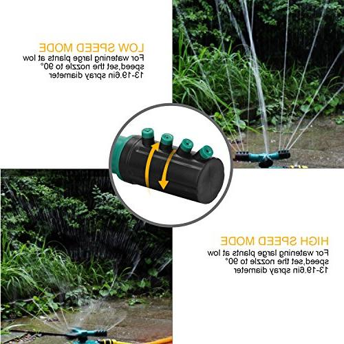 ghdonat.com Waters up to 40 Diameter Automatic Water Sprinkler for ...
