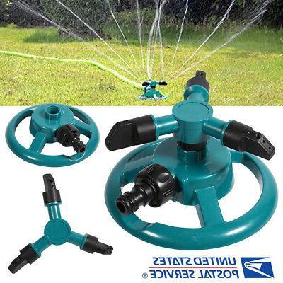 impulse garden sprinkler watering rotating system water
