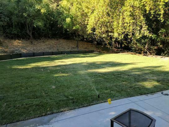In-Ground Sprinkler Do It Irrigation w/