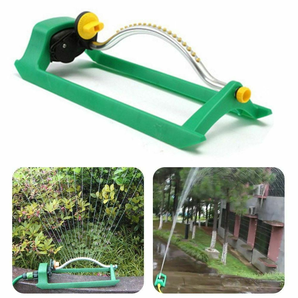 irrigation oscillating lawn sprinkler watering garden pipe