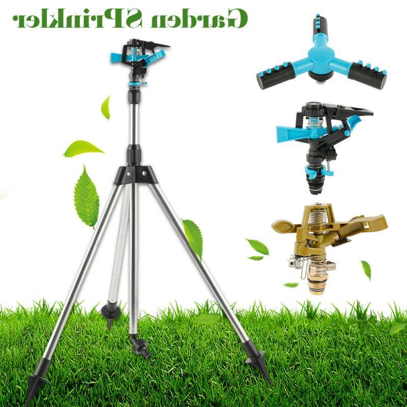 Water Lawn Sprinklers Tripod Watering Irrigation System Impu