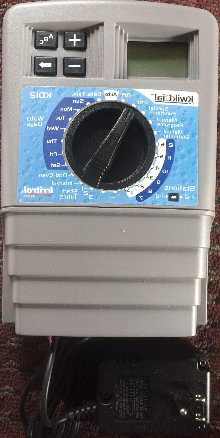 Irritrol 12 Station KwikDial Sprinkler System Controller KD12-INT Brand New
