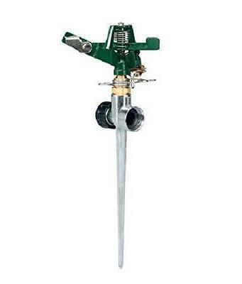 lawn sprinkler adjustable impact rotor w zinc
