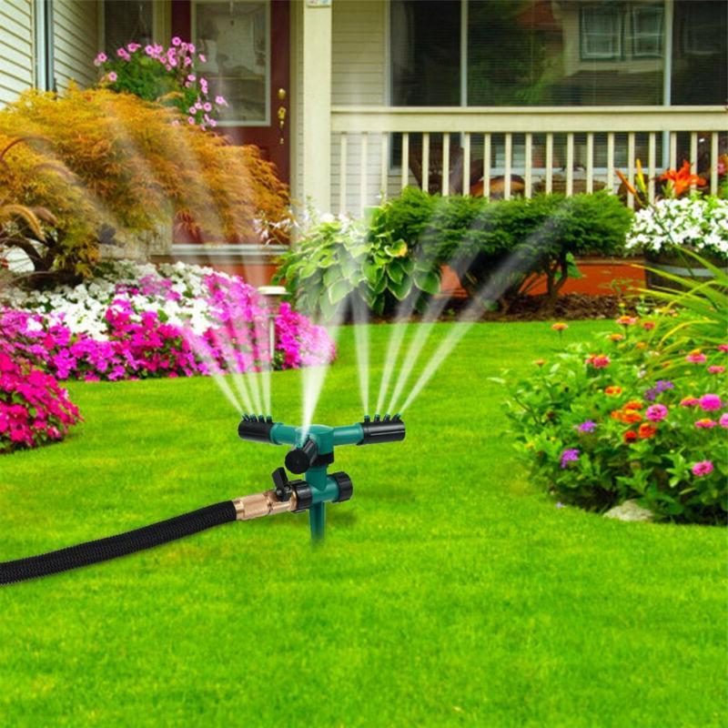Lawn Sprinkler Rotating Garden Sprinklers Lawn Irrigation