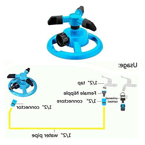 Kadaon Automatic Irrigation System Feet Coverage Rotation