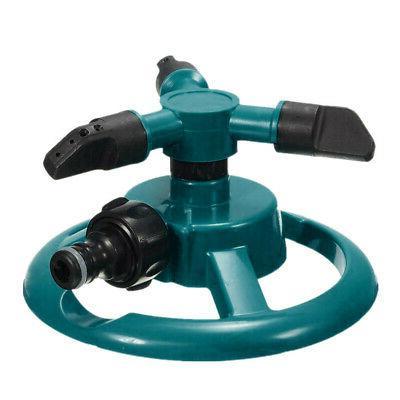 Lawn Sprinkler Automatic Water Sprinklers Rotation 360° US
