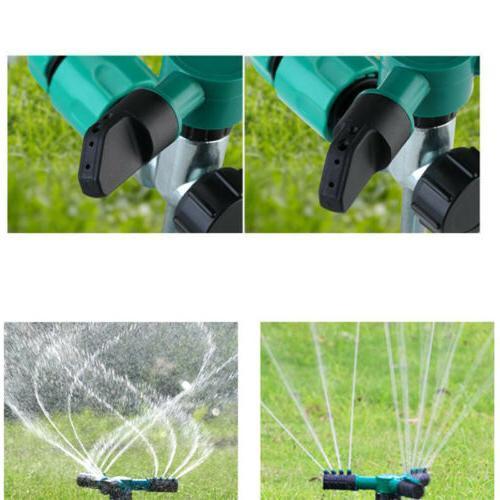 Automatic 360° Rotating Garden Sprayer Sprinkler Irrigation