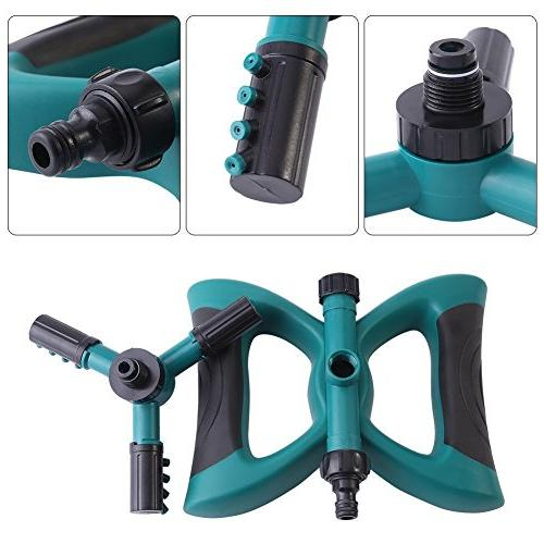 QSUBFPYK 360-degree Rotary Adjustable Large Non-Leaking Design 3-arm with Rod
