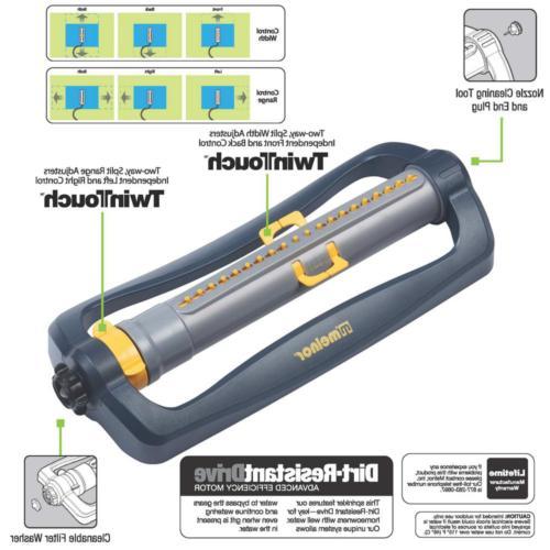 Lawn Water Adjustable DuraTek Rubber Nozzles 4500