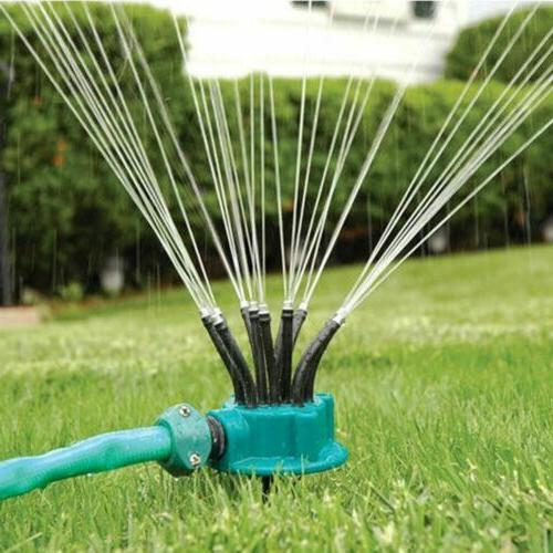 Lawn Water Garden Sprinkler Head Outdoor Automatic Sprinkler