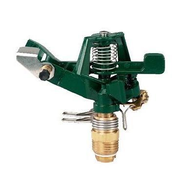 metal impact sprinkler head for yard watering