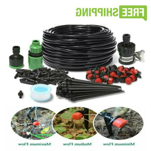 micro drip irrigation system plant