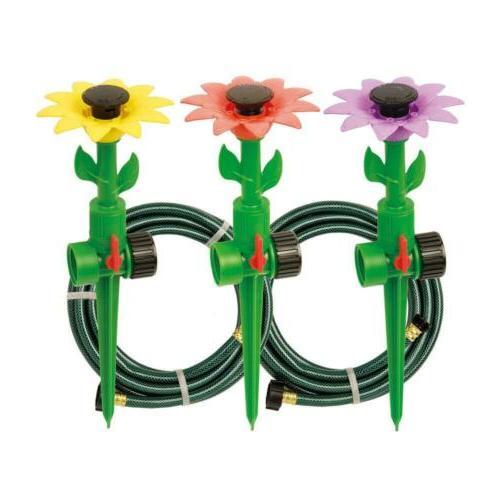 multi adjustable sprinklers and garden hoses kit