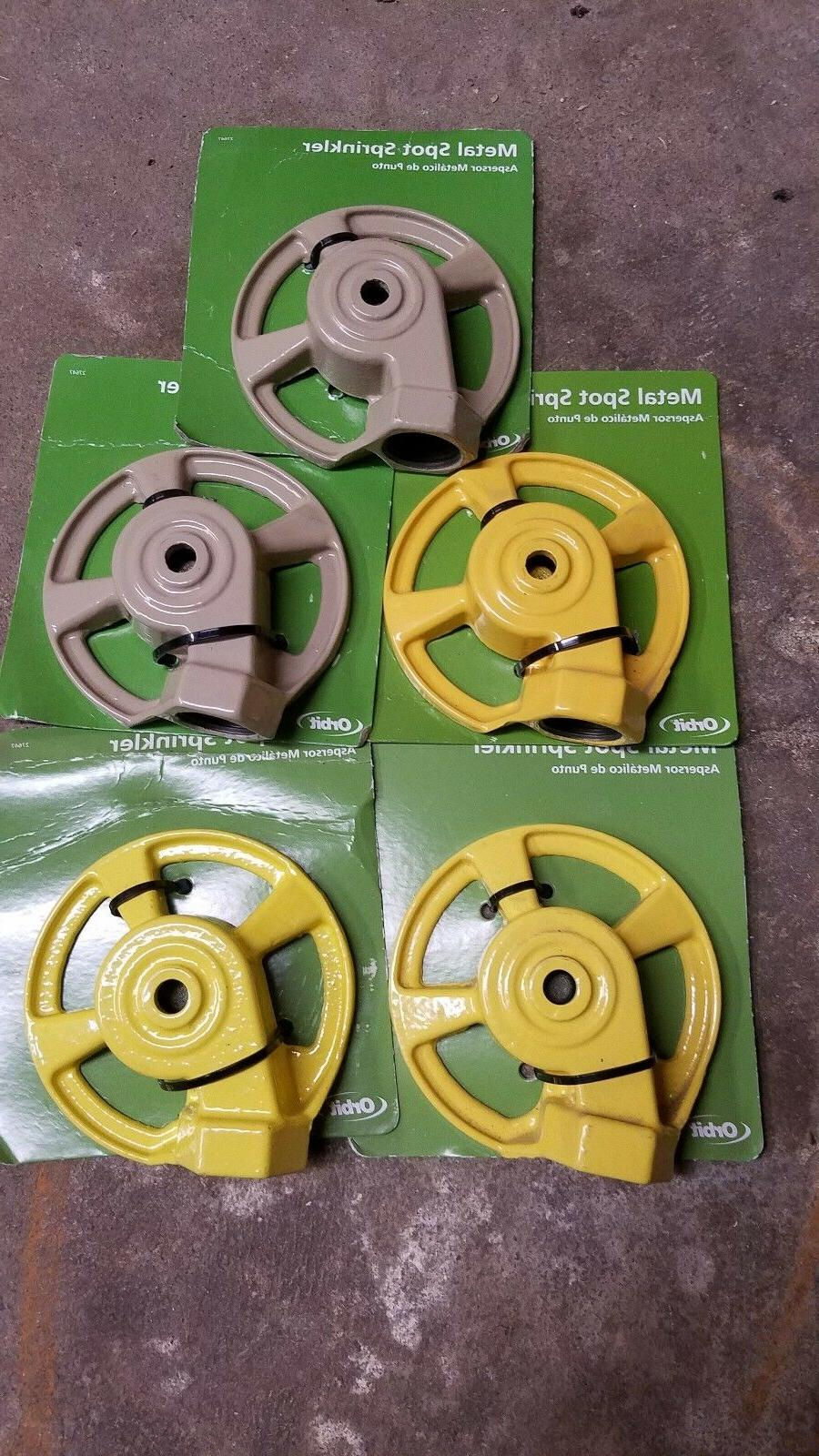 new cast iron spot sprinklers lot of