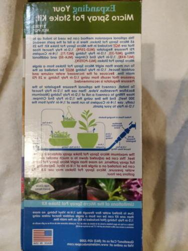 NIB Mister Irrigation Micro Pot Garde