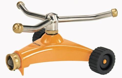 DRAMM Orange ColorStorm? 3 Arm Whirling Sprinkler