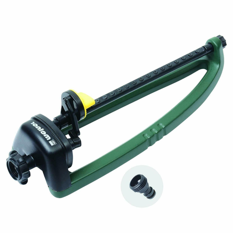Oscillating Adjustable Lawn Sprinkler Water Sprayer Range Wa