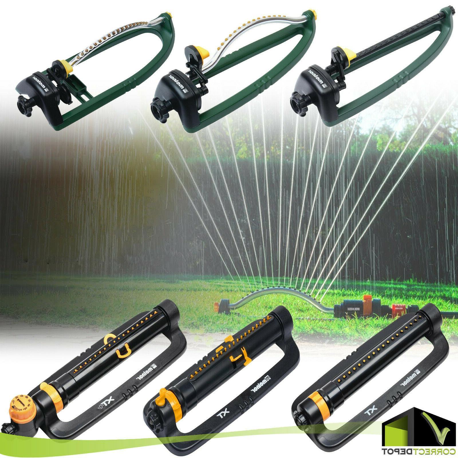oscillating lawn sprinkler adjustable water range yard