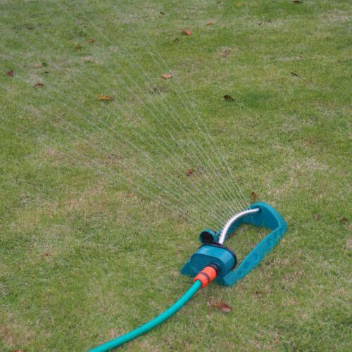 oscillating lawn sprinkler automatic watering spray outdoor