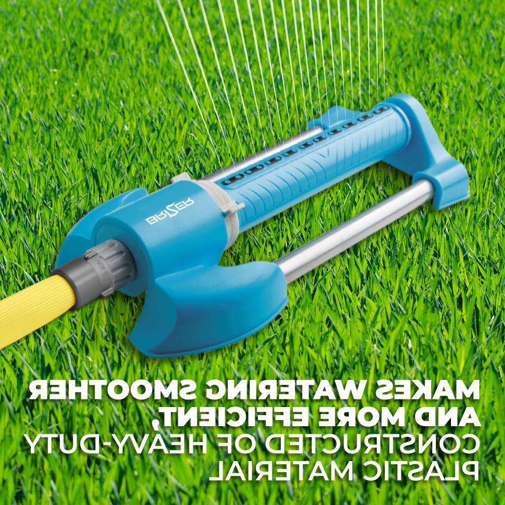 Oscillating Sprinklers Yard System Rotary Adjustable