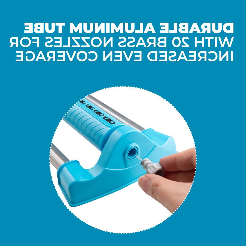 Oscillating Sprinklers for Lawn Adjustable