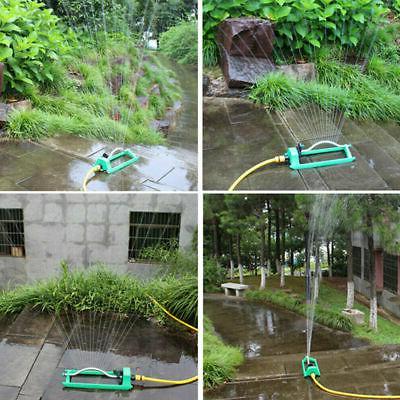 Oscillating Water Sprinkler Outdoor Lawn Irrigation System