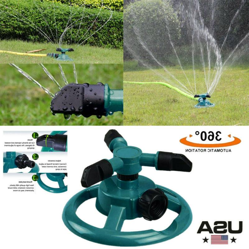 outdoor automatic strength garden water sprinklers lawn