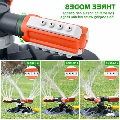 Outdoor 360 Degree Rotating Sprinkler