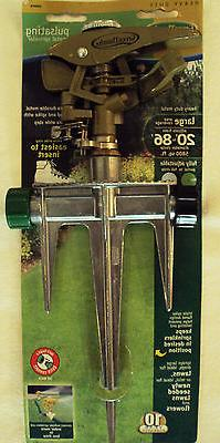 Pulsating Lawn Sprinkler ~ Heavy Duty ~ Large Coverage Area,