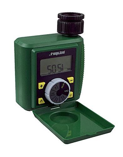 Instapark PWT-07 Outdoor Digital Programmable Outlet Automatic On Off Faucet Timer Rain Delay and Manual Control