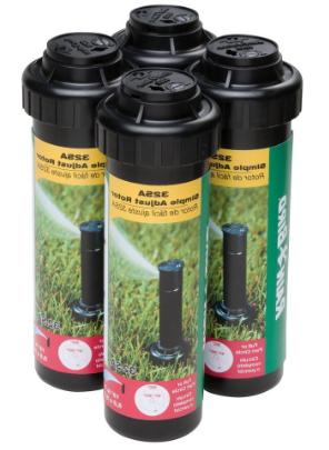 rain bird sprinkler heads spray water lawn