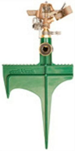 Rainbird 25PJLSP Brass Deluxe Impact Sprinkler On Hose End S