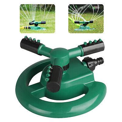 Rotating 360 Degree Sprinkler Garden Lawn Grass Watering Sys