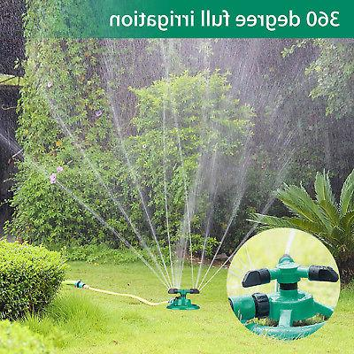 Rotating Impulse Lawn Grass Watering Water