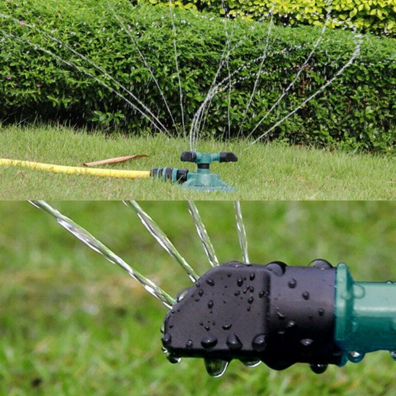 Rotating Impulse Sprinkler Garden Lawn Watering Water Hose