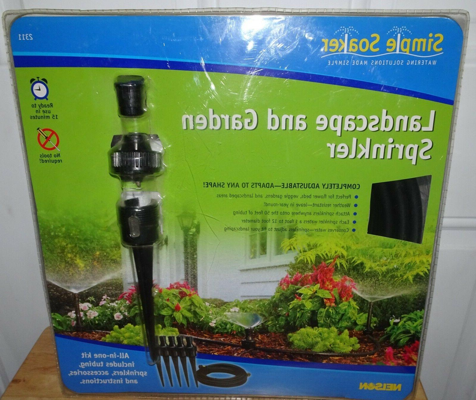 simple soaker 2311 landscape and garden sprinkler
