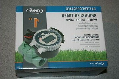 sprinkler timer battery operated