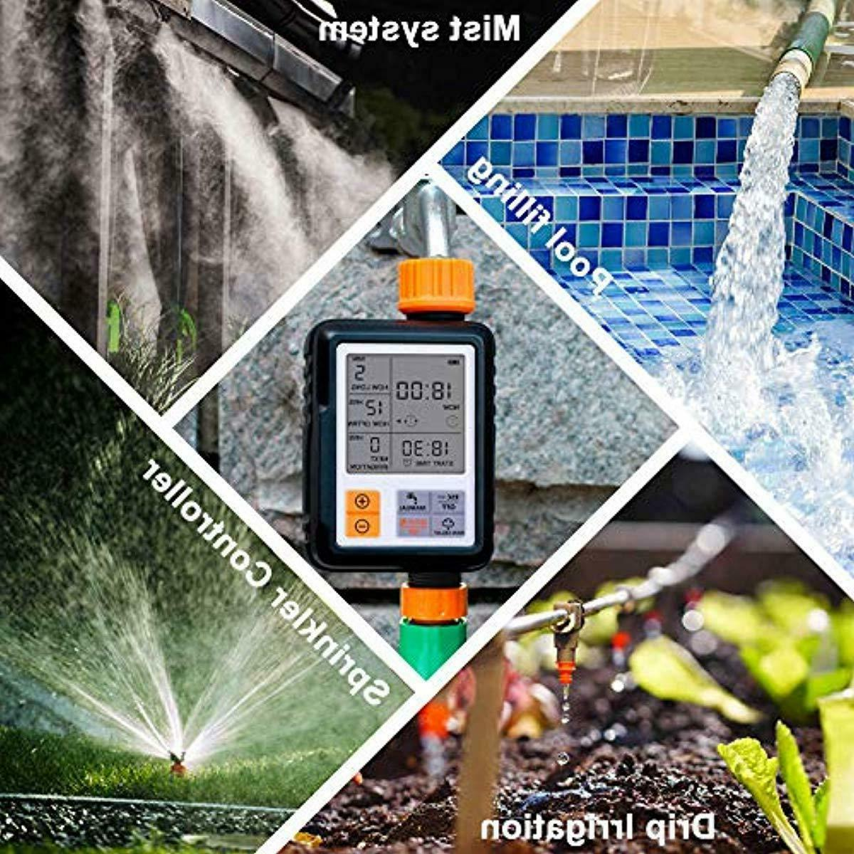 Programmable Lawn Faucet Watering T