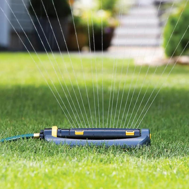 Melnor Turbo Oscillating Sled Sprinkler Timer Hose