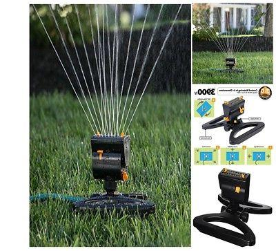 water sprinklers for lawns oscillating rotation flow