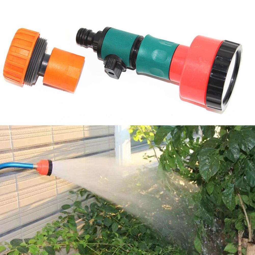 Watering Gun Hose Hand Straight Nozzle Home <font><b>Head</b></font> With Switch <font><b>Sprinkler</b></font> <font><b>Lawn</b></font> Seedlings