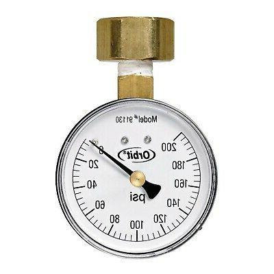 watermaster underground 91130 pressure gauge