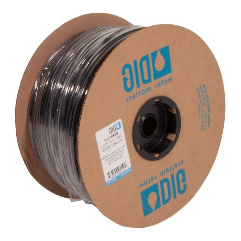 DIG 1/4 in. x 500 ft. Flexible Poly Micro Drip Tubing Wateri