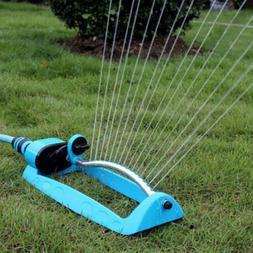 Lawn Oscillating Sprinkler Watering Garden Pipe Hose Water F