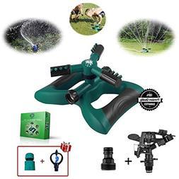 Tree-Inn Lawn Sprinkler, Garden Sprinkler Premium Kit, 3 Spr