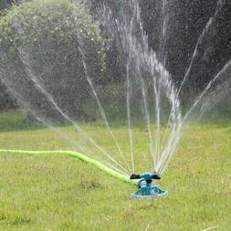 360º Rotating Lawn Sprinkler Automatic Garden Water Sprinkl